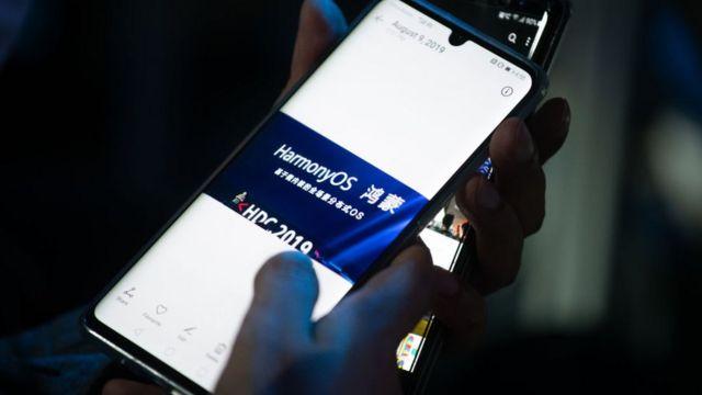 Teléfono de Huawei.
