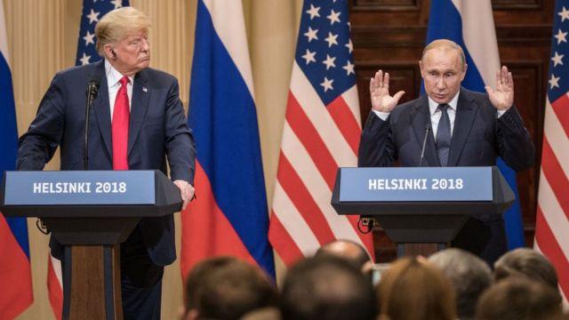 Trump, Putin, Helsinki