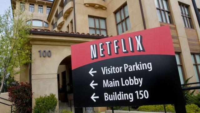 Oficinas centrales de Netflix en California.
