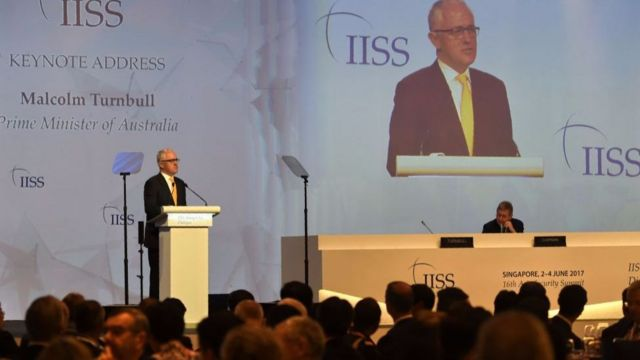 Thủ tướng Australia Malcolm Turnbull cũng thừa nhận rằng sức mạnh ngày càng tăng của Trung Quốc tiếp tục là chủ đề gây tranh luận gay gắt nhất.