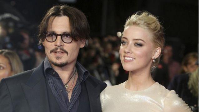 Johnny Depp və Amber Heard, 3 noyabr 2011