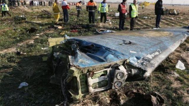هواپیمای مسافربری اوکراین با دو موشک سپاه پاسداران سرنگون شد