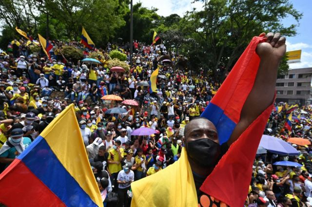 En qué se parecen (y en qué no) las protestas de Colombia a las que  ocurrieron en Chile? - BBC News Mundo