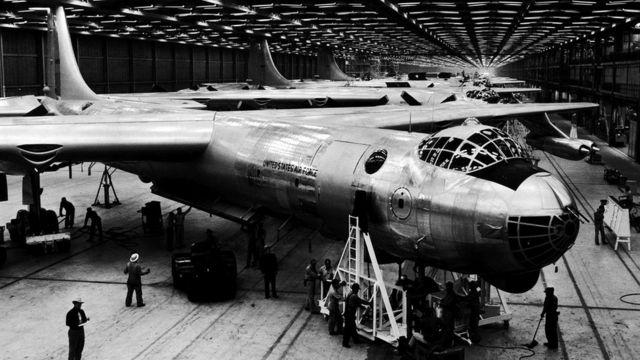 ВВС США испытывали ядерный реактор на бомбардировщике B-36
