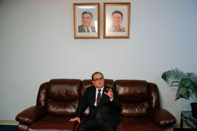Minisitiri w'ububanyi n'amahanga wa Korea ya ruguru, Ri Su Yong