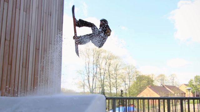 GB Snowboarder Jamie Nichols