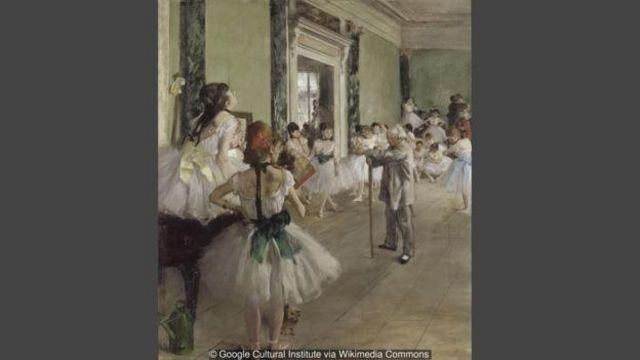 Lukisan The Dance Class oleh Edgar Degas.