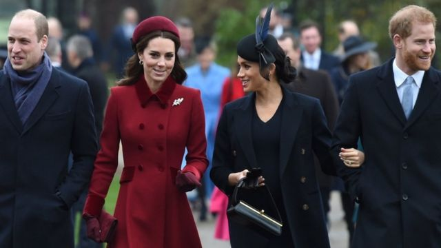 Harry and Meghan split from William and Kate joint charity