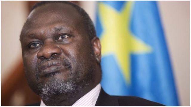Riek Machar ntaraboneka ku mugaragaro kuva ahunze umugwa mukuru wa Sudani y'epfo, Juba