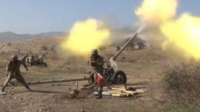 آرمینیا  ناگورنو قرہباخ تنازع: امریکی ثالثی سے آرمینیا اور آذربائیجان ایک ماہ میں تیسری مرتبہ جنگ بندی پر متفق  115068738  115067622 hi063928971