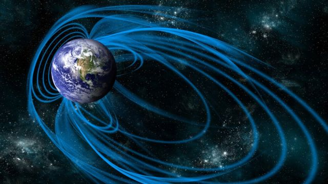 Scientists record breach in magnetic field