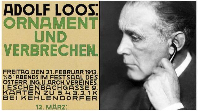 Imagem do arquiteto Adolf Loos