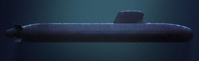 「バラクーダ級」潜水艦のCG図