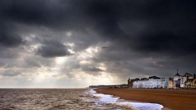 在风暴期间,古德温暗沙