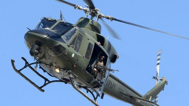 فوجی ہیلی کاپٹر