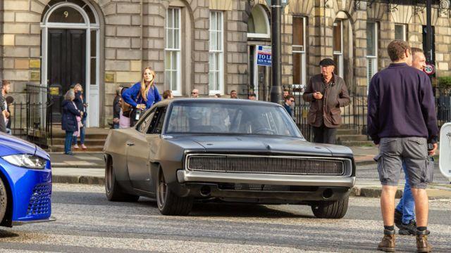 Film je sniman u Edinburgu