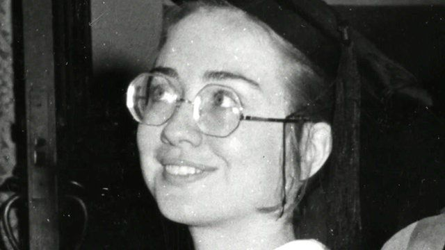 An archive photo of Hillary Clinton