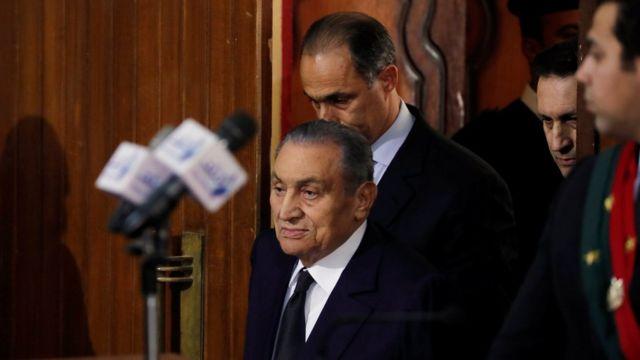 Tsohon Shugaban Masar Hosni Mubarak