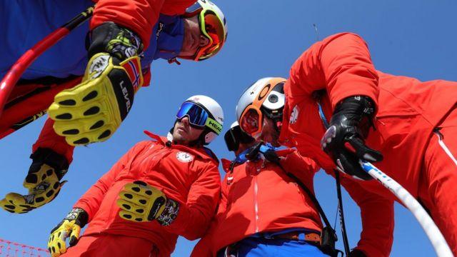 Norwegian athletes in Pyeongchang-gun