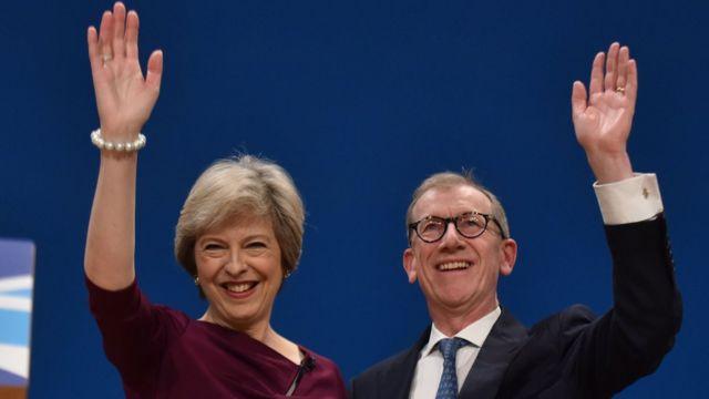 Philip John May, Theresa May