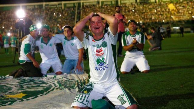 مشجعو فريق شابيكوينسي البرازيلي
