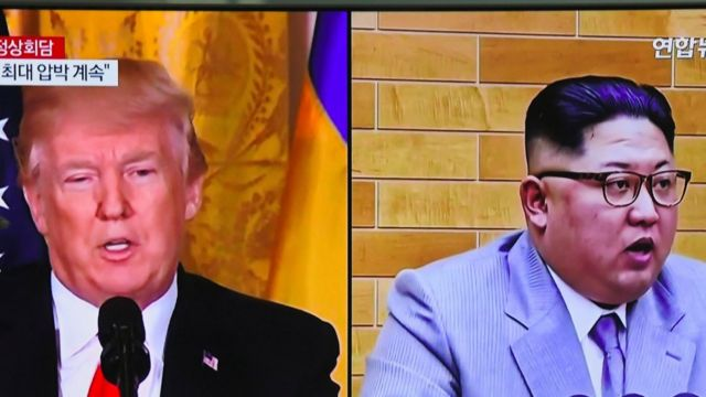 Trump na Kim Jong-un