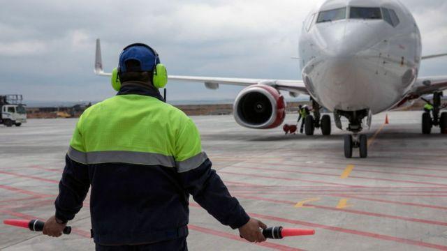 самолет в Симферополе