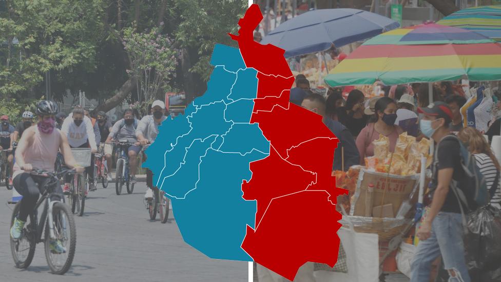 Mapa de CDMX tras las elecciones