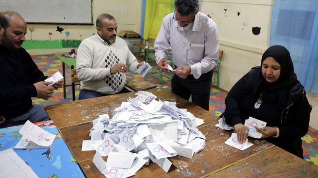 Seçimlere yüzde 44,4 oranında katılım sağlandı