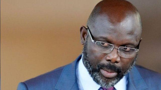ژرژ وه آ، رئیس جمهور لیبریا ا