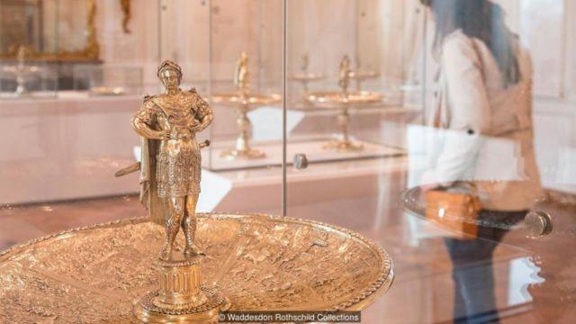 凱撒銀杯曾在大都會藝術博物館展出,如今在英國沃德斯登莊園亮相