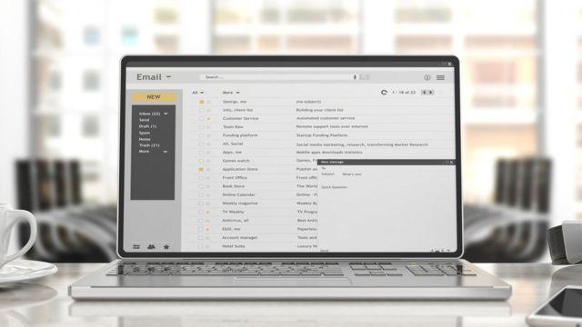 Caixa de entrada de e-mail