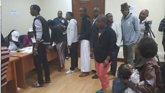 Abanyarwanda barenga 3000 baba mu gihugu ca kenya bitavye amatora y'umukuru w'igihugu