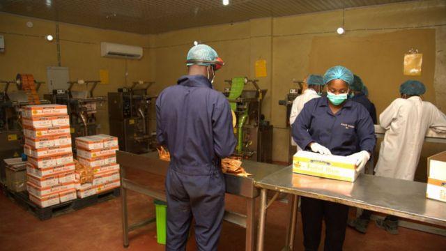 Employés d'AACE Foods
