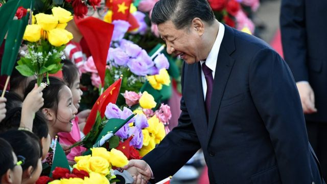 Xi Jinping arrives in Macau to celebrate 20 years since the handover