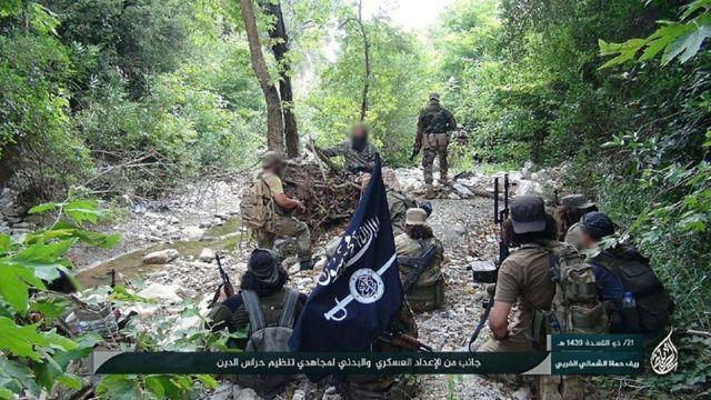 Hurras al-Din militanları