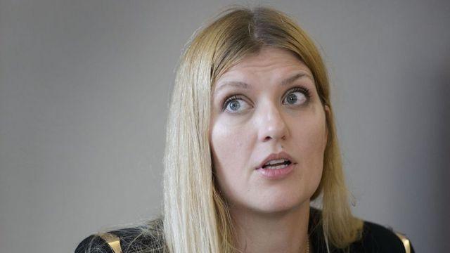 Beatrice Fihn, directora de la ONG Campaña Internacional para Abolir las Armas Nucleares..