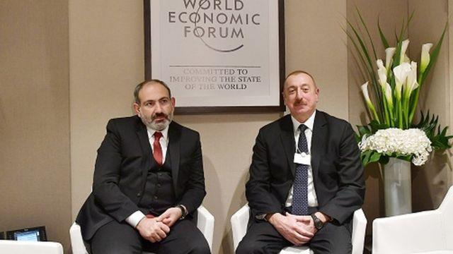 Ilham Əliyevlə Nikol Paşinyan Yanvarın 22-də Davos forumu çərçivəsində görüşüblər