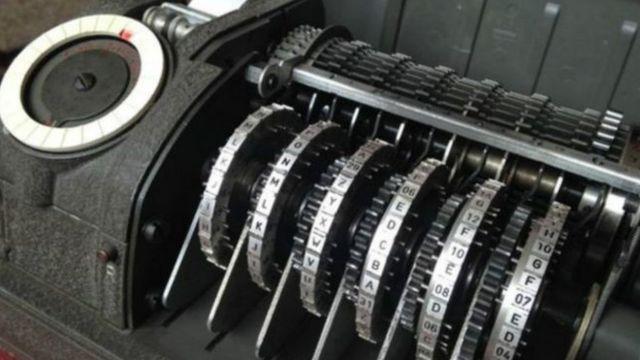 جهاز للشفرة يعود لحقبة الحرب الباردة