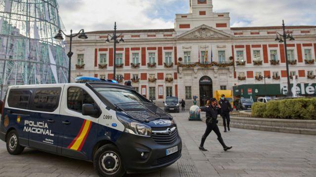 Полиция в Мадриде