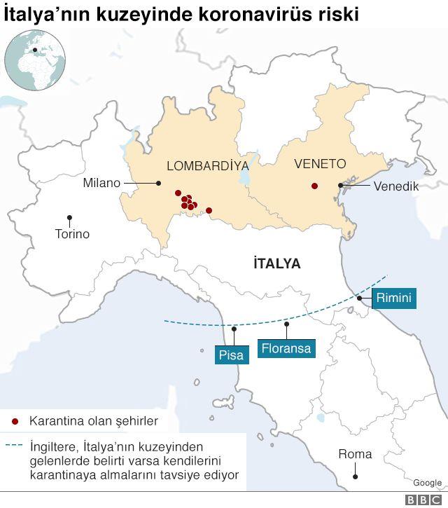 İtalya koronavirüs