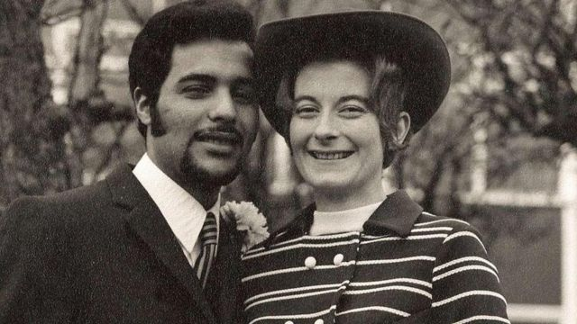1971年時的卡羅爾·馬罕發德和切德里·馬罕發德(Carol and Chedly Mahfoudh)