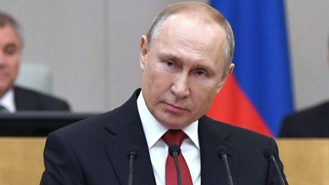 Madaxweynaha Ruushka, Vladamir Putin