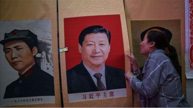 Mao Zedong and Xi Jinping