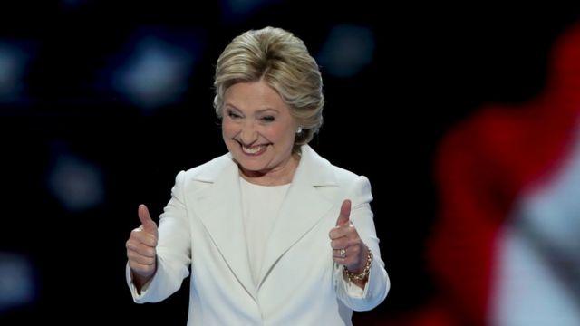 Elecciones En Ee Uu Mucha Gente Ha Cometido El Error De Reírse De Trump Y Otras Frases De La Histórica Noche En Que Hillary Clinton Aceptó La Nominación A La Presidencia Bbc