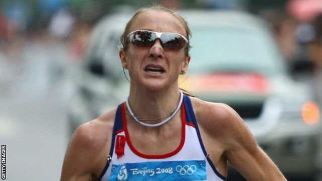Чемпионка мира Пола Рэдклифф