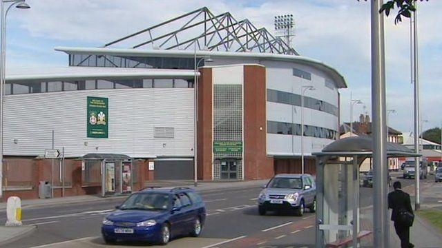 Racecourse stadium