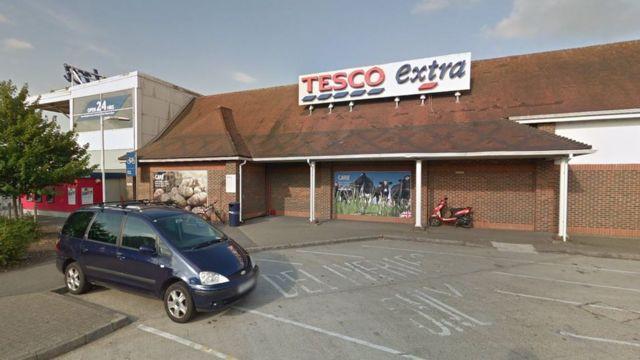 Boy collapses and dies outside Fleetsbridge Tesco supermarket
