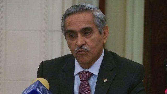 el presidente del Poder Judicial, Duberlí Rodríguez