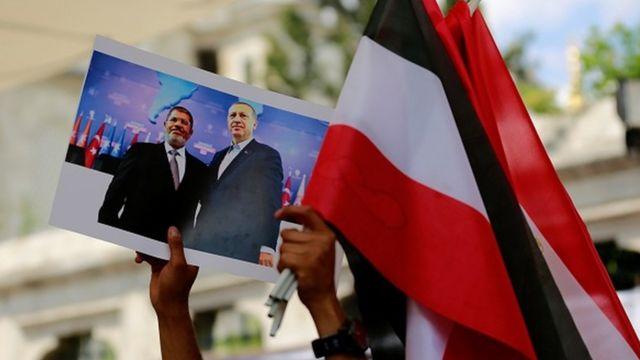 Mısır'daki cezaevinde Haziran 2019'da hayatını kaybeden Mursi için İstanbul'da cenaze töreni düzenlendi